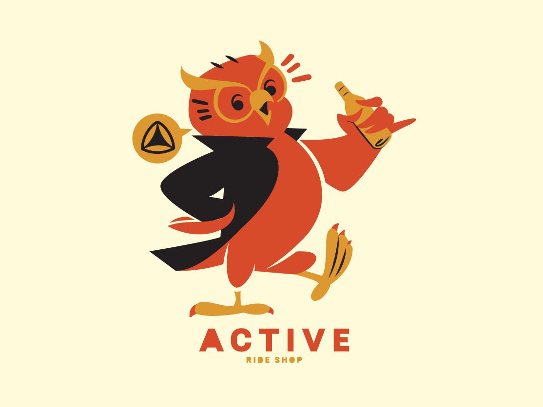 Owl brooklyn designer illustration vector design birds owl