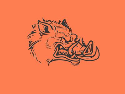 Boar WIP graphics vector design vector t-shirt design illustration vector illustration