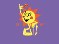Sun Character