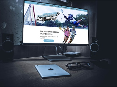 Lacrosse website front end ui ux website
