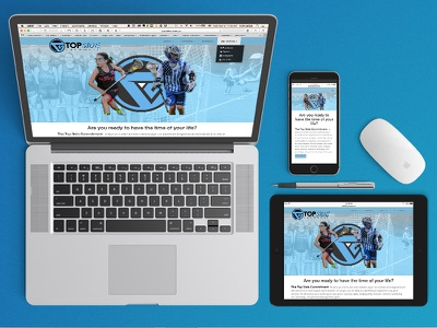 Website Devices css html ny lax lacrosse breakpoints front end ui ux website
