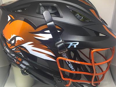 Wildcats Lacrosse Helmet sports design bay area wildcat logo branding lax lacrosse