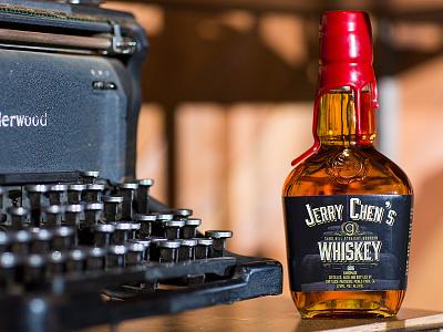 Greylock Partners Whiskey Label bay area greylock whiskey label package design design