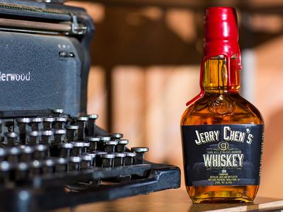 Greylock Partners Whiskey Label