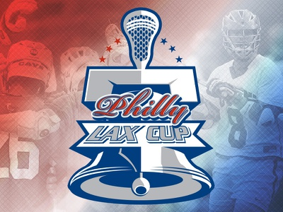 Philly Lax Cup Tournament Logo philadelphia philly branding logo sports lax lacrosse