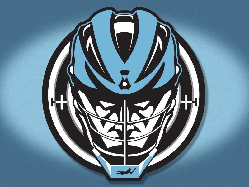 SNIPERS Logo sports helmet ny snipers lax lacrosse logo