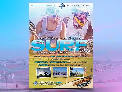 Summer Camp Marketing email design camp ucsc santa cruz sf bay area bay lax lacrosse flyer marketing