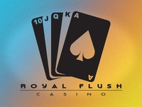 Royal Flush Casino Branding