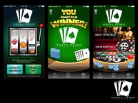 Casino Application Screens