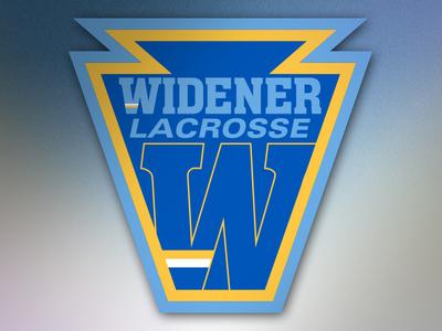 Logomark- Widener University Lacrosse