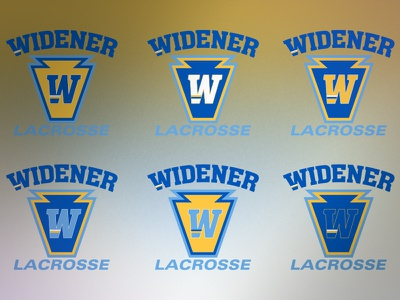 Logomark- Widener University Lacrosse logomark university widener lax lacrosse