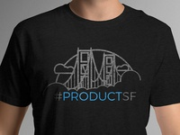 #productSF Golden Gate T-Shirt art