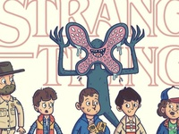 Stranger Things Sticker Pack No. 1 | Promo