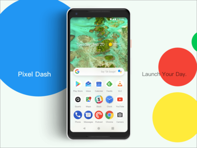 Pixel Dash Launcher
