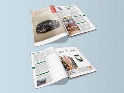 DH Kaiser Co. Magazine Mockup design typography page layout layout magazine magazine layout