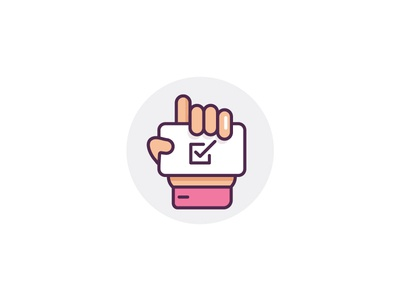Checklist outline icon vector outline lines hand agenda done checlist check