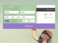 #dailyui #002 - Checkout Form