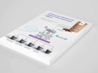 Infographics Postcard Design