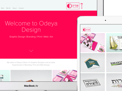portfolio website web design website web