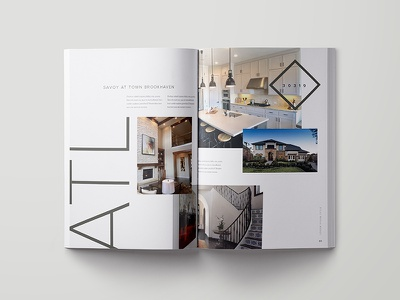 Landbook Design modern spread layout design landbook book