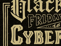 Black Friday WIP