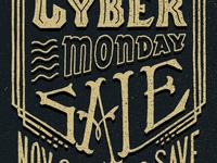 Black Friday •Cyber Monday