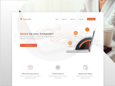 Fox Speed Up Landing Page
