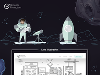 Browser Protection in Space