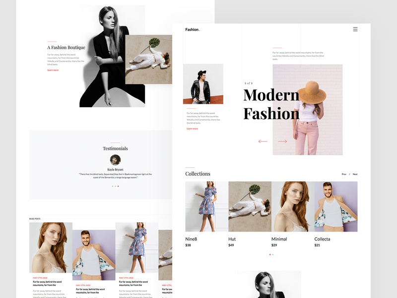 Fashion Free HTML5 Web Template by Untree.co style fashion uiux html freebie website free template bootstrap bootstrap 4