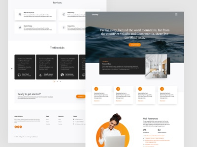 Gravity Free HTML5 Bootstrap Template by Untree.co web webdesign template free html bs4 bootstrap4 uiux