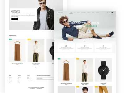 Product Free HTML for eCommerce ecommerce webdesign website design ux ui bootstrap onepage html free