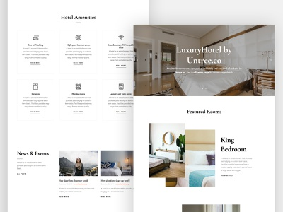 LuxuryHotel Free HTML CSS Website Template by Untree.co ux ui frontend hotel webdesign website onepage bootstrap css html free