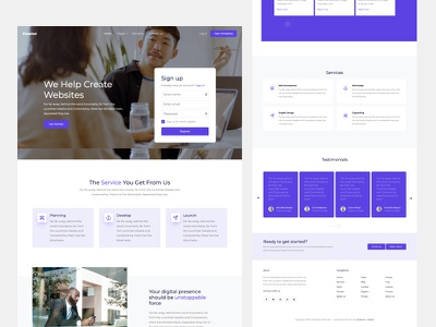 Passion Free Bootstrap Template by Untree.co login signup freebies template website frontend html ux ui bootstrap onepage free template free
