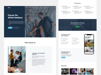 Nova - Multipurpose Free Download Website Template by Untree.co freebie frontend free template website bootstrap html design ux ui