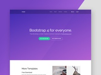 Probootstrap Unlock (Free Bootstrap 4)