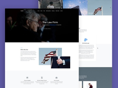 Probootstrap Law (Free HTML)