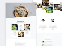 Meal Free Website Template by Free-Template.co