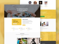 Charity Free Website Template by Free-Template.co
