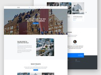 Pivot Free HTML Template For Construction Websites