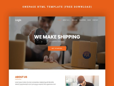 Logis Onepage HTML Template (Free Download)