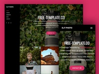 Elit Onepage Free HTML5 Template by Free-Template.co
