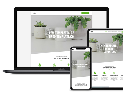 Neos Free Website Template by Free-Template.co