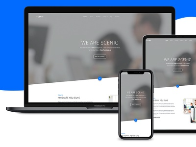 Scenic Free Website HTML Template by Free-Template.co html bootstrap 4 ux ui free html5 free bootstrap 4 free template