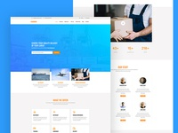 Cargo Free Website Template for Logistics