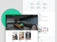 Warehouse Free Website Template for Real Estate