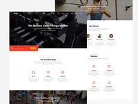 Stamina Free HTML Template for Fitness Webiste