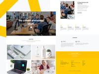 Cardboard Free HTML Website Template for Portfolio