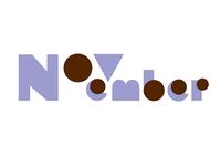 November lettering