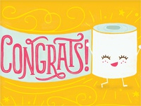 Pregnancy Congrats greeting card