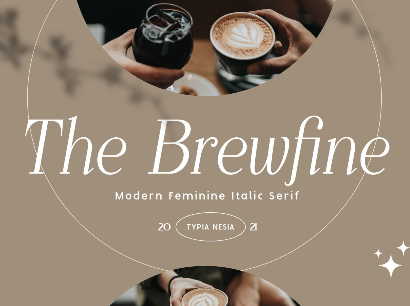The Brewfine - modern feminine italic serif font typeface font modern architecture magazine logofont feminine classy luxury coffee app ux vector ui typography logo graphic design illustration design branding